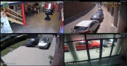 Images 4 caméras
